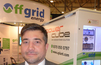 Rugby green energy product secures �1million order from national hire company