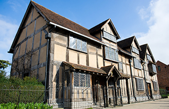 Discover the magic of Shakespeare's England in 2017!