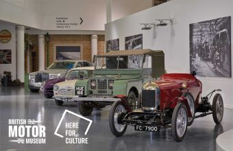 British Motor Museum awarded £707,000 from Government's Culture Recovery Fund